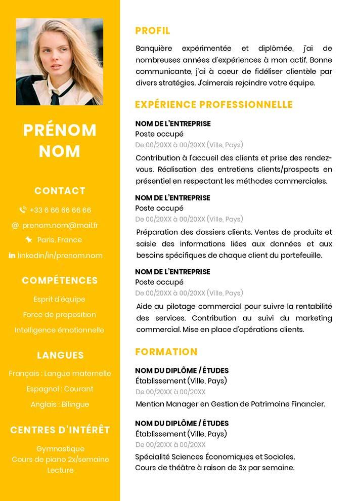 resume model pics