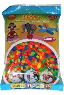Hama-201-51-Loisirs-Cratifs-Perles-et-Bijoux-Sachet-3000-Perles-Non-Mixte-0
