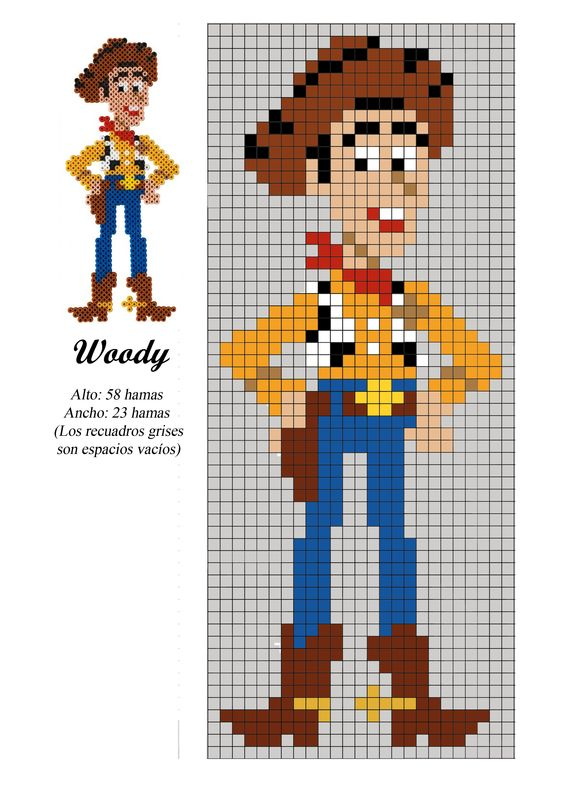 woody-toy-story-perles-a-repasser-hama-anime