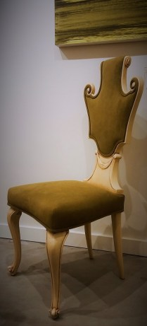 **ITEM NOW SOLD**Dorothy Draper Hollywood Regency Chair. C 1930,s.695.-