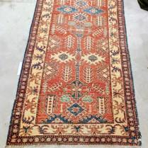 **ITEM NOW SOLD**Afghani Runner. Purchased 12 years ago.Original List: 1200.-Modele's Price: 595.-