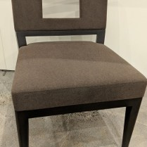 "**ITEM NOW SOLD** Pair Christian Liaigre 'Chamane' chairs. 3-4 years old, very lightly used. 23.25""w x 27.5""d x 32.5""h. Original List: $$7,598. per Pair. Modele's Price: 1975. per Pair. Two pairs available."