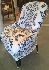 **ITEM NOW SOLD** Custom designed/built child's scale English chair. Orig. List: $1,700. Modele's Price: 495.-