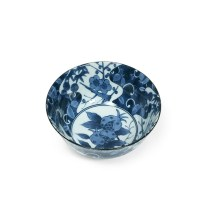 "Shikunshi Pomegranate donburi bowl. 6"" dia. 9.25 each"