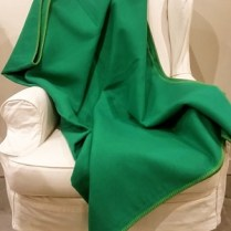 Large selection of solid color throws available in the shop (24 different solid colors available).