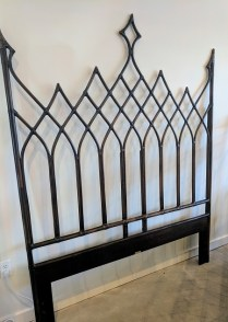 **ITEM NOW SOLD**McGuire Queen headboard. 495.-