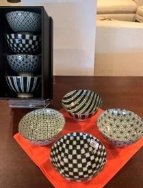 Miya 'Retro' bowls. Boxed set/4 29.50