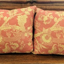 **ITEM NOW SOLD** Pair throw pillows from Great Jones Home. Down/feather fill. Original List. $199. each Modele's Price: 150. pr