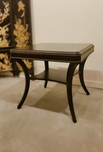 **ITEM NOW SOLD**Ethan Allen 'Everett' End Table. Current Retail Price: $917.15. Modele's Price: 325.-