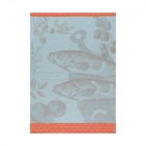 Le Jacquard Francais tea towel. 'Bar-a-la-provencale gros sel'. 100% cotton. 23.-