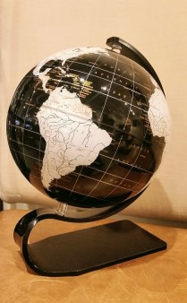 ** ITEM NOW SOLD.**Artline Contemporary Globe. 125.-