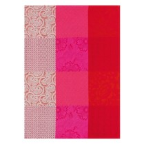 "Le Jacquard Francais, ""Fleurs De Kyoto' Cherry. Traditional Tea Towel. $23."