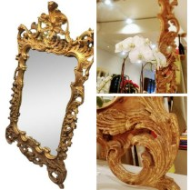 **ITEM NOW SOLD**La Barge Mirror. Carved Wood Frame. Rococco.695.-