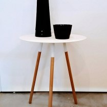 White 'Plain' Table. 65.-