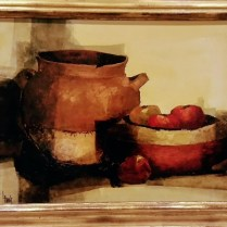 "** ITEM NOW SOLD.**Lawrence Harris Oil on Board. Purchased from estate sale. 35.5 x 29.5"" (inc. frame)595.-"