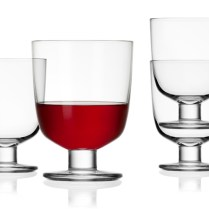 'Lempi' Universal Glass. Stackable, elegant, washes beautifully in dishwasher. Use for wine, water, any beverage. 18.75 each