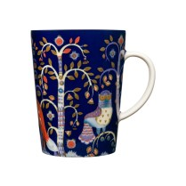 'Taika' mug in blue, 13.5 oz. Also available in white, black. 25. - each