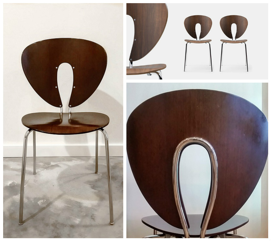 **ITEM NOW SOLD**STUA U0027Globusu0027 Chairs (Spain) In Discontinued Wenge Finish.