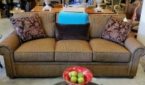 **ITEM NOW SOLD**Stickley Sofa. Purchased at Seldens in 2013. Original List: $4099.-Modele's Price: 1695.-