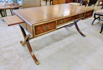 **ITEM NOW SOLD*Ernest Hemingway 'corespondent' writing desk.Original List: $1999.-Modele's Price: 995.-