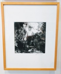 "Jacqueline Golding framed photograph. 'Hunter and his Sword' C 1980's. Seattle Photographer. 16.75"" w x 20.75""h 225.-"