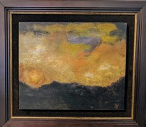 """Ed Kamuda Untitled. Oil on board. Currently represented by Harris Harvey Gallery on 1st Ave. 15.75"""" x 14"""" 395.-"""