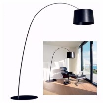 **ITEM NOW SOLD**Foscarini 'Twiggy' Floor Lamp. Purchased from Inform less than 2 years ago. 3-100 watt max. incandescent bulbs with dimmer. Black fiberglass-based composite with polycarbonate . Original List: $2433.-Modele's Price: 1150.-