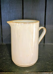 Large rustic pitcher.35.-
