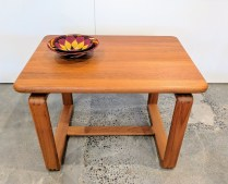 Solid teak side table. Solid Teak side table. Made by Tarm Stole Og Mobelfabrik. 175-