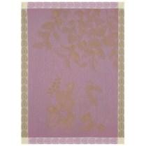 Le Jacquard Francais 'Eaux de fruits rouges blackberry tea towel'. 100% cotton. 24.-