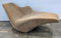 """Driade 'Tokyo Pop Soft' chaise lounge, designed by Tokujin Yoshioka. Discontinued style. 65""""l x 29""""w x 31.25""""h. 450.-"""