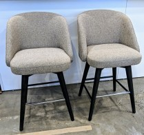 "**ITEMS NOW SOLD** Pair Room & Board 'Cora' counter stools. 2 years old, very light use. 21""w x 23.5""d x 36.5""h. Current List: $699. per stool Modele's Price: 495. per pair (2 pairs available)"