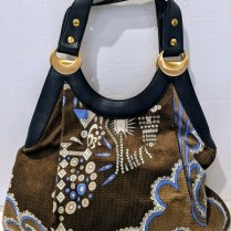 **ITEM NOW SOLD** Emilio Pucci handbag, barely used, if at all. Orig. price: approx. $1000. Modele's Price: 295.-