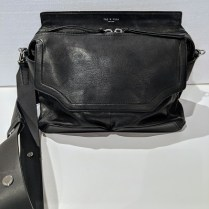 **ITEM NOW SOLD** Rag and Bone 'Pilot' satchel, little or no use. Leather and calf suede with faille lining. Orig. List: $695. Modele's Price: 350.