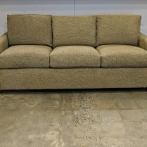 "Lee sofa from Del Teet with custom fabric, 5 years old, excellent condition. 76""w x 34""d x 32""h. Orig. List: $4,500. Modele's Price: 1950.-"