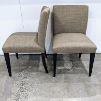 """Set/6 Room & Board 'Marie' side dining chairs. Five years old. 21""""w x 24.5""""d x 34""""h. Current List: $2.394. + 99. for delivery. Modele's Price: 1275.-set/6"""