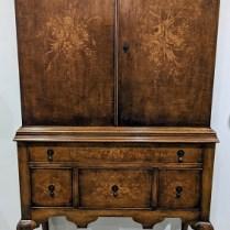 "**ITEM NOW SOLD** Vintage Century Furniture cabinet, estimated 1950's-60's. Adjustable shelves, paper-lined, quality construction. 38.5""w x 19""d x 72.25""h 425.-"