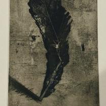 "Christi Birchfield original etching, unframed. 12""w x 16""h. 175.-"