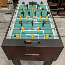 "Toronado 'Sport' foosball table. Five years old, excellent condition. Made in USA. 56.5""l x 29""w. x 35.25""h. Current list: $1561.50 Modele's Price: 675."