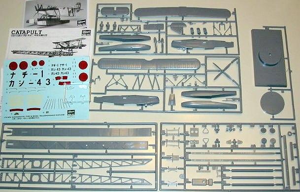 Hasegawa 172 E7K1 Alf with catapult