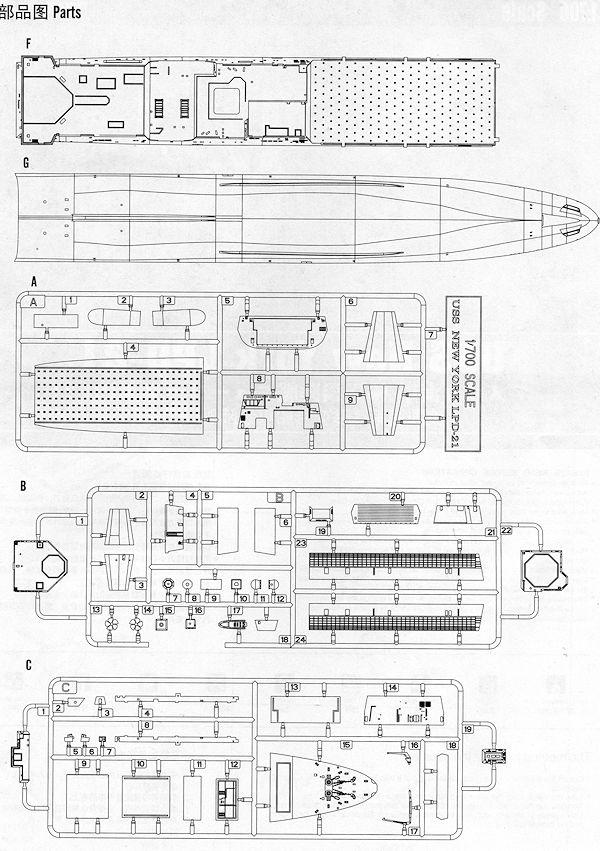 Hobby Boss 1/700 USS New York (LPD-21), previewed by Scott