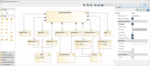 small resolution of modelio open source uml and bpmn free modeling toolfeatured information sysml diagram