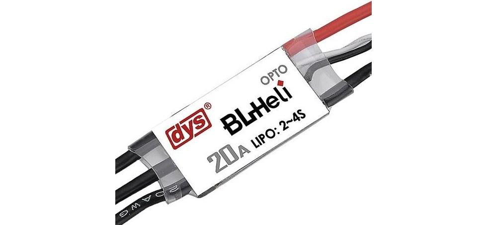 Pièces & accessoires : DYS BL20 Mini 20A BLHeli ESC OPTO 2