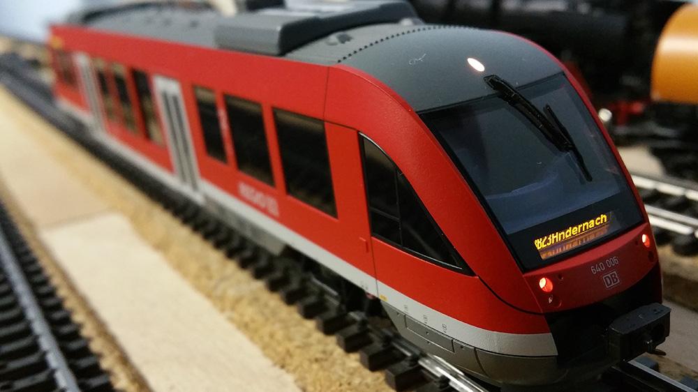 BR640006-2 von Märklin auf der Modellbahn im Einsatz