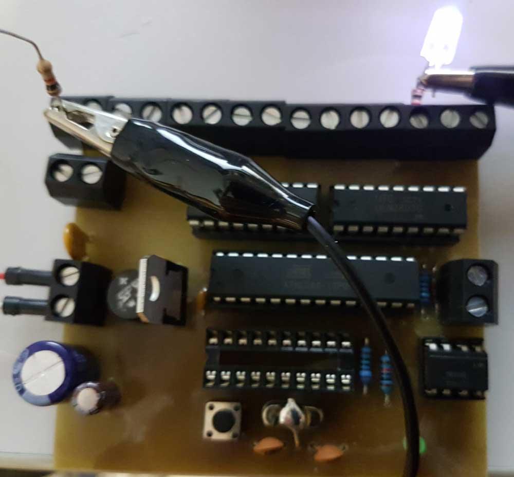 Erster Test mit dem neuen Lichtdecoder