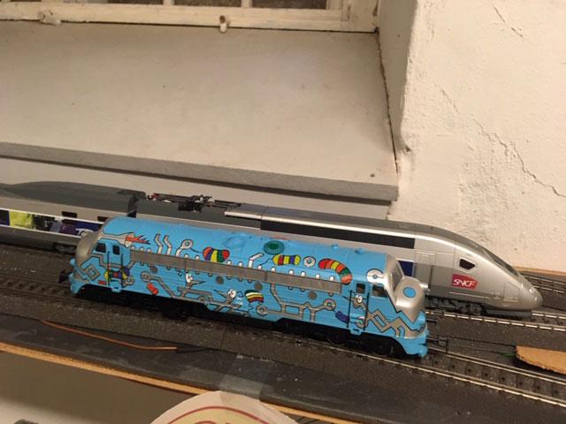 Unsere erste Lok mit einem ESU Lokpilot 5