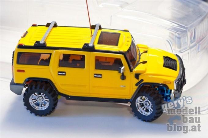 Traxxas Stampede - Hummer H2 Karosserie - Lackiervorbereitung 2