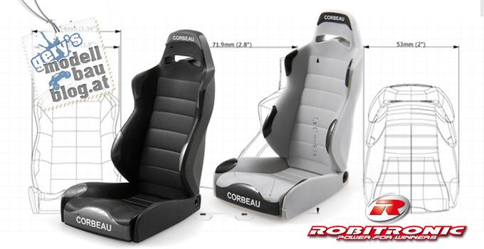 Neue Corbeau Sitze für Axial 1