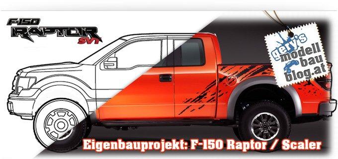 """Teil 4: Eigenbau Projekt """"Ford F-150 Raptor"""" – Die letzten Karosseriearbeiten!"""
