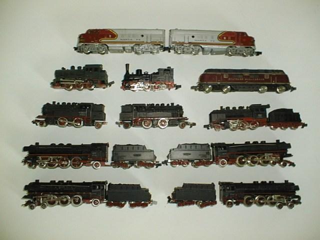 Rokal TT Lokomotiven